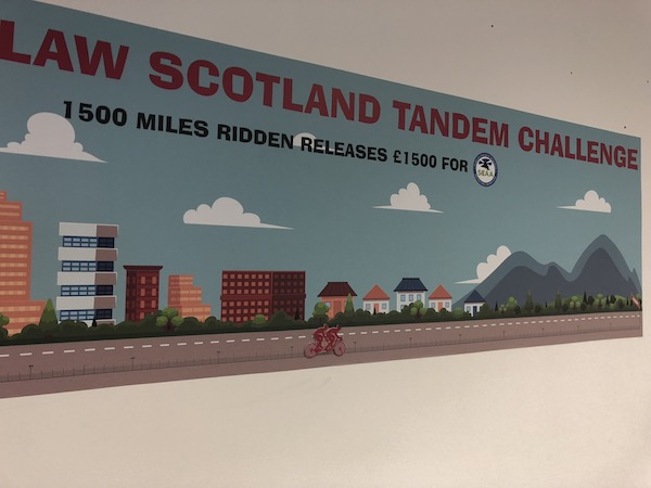 Cycle Law Scotland tandem challenge