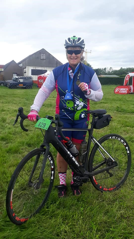 Marny with Tour de Forth Medal
