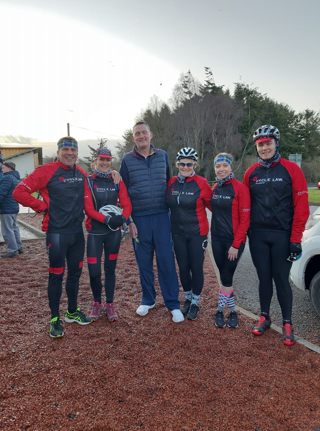 Wounded Lions cycle with Doddie Weir