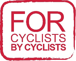 For cyclists By Cyclists Logo