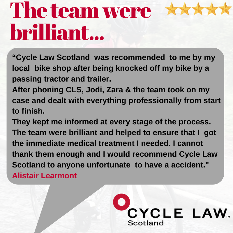 Alistair Learmont testimonial