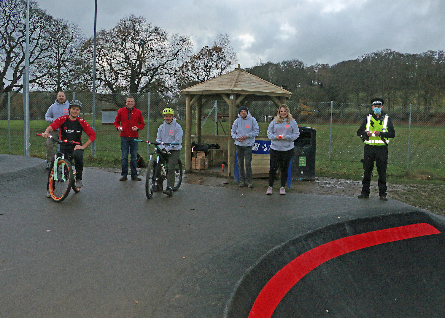 Hawick Community Pumptrack|CLS|Police Scotland