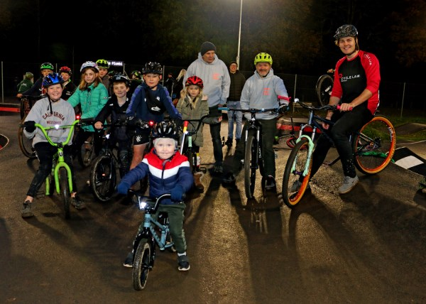 Hawick Community Pump Track|CLS|Young cyclists